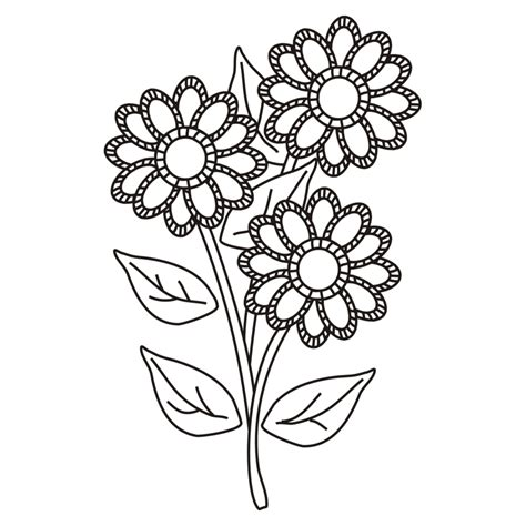 Imagenes De Flores Hermosas Para Imprimir | dibujos de flores bonitas para colorear