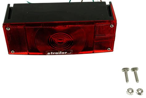 wesbar waterproof trailer lights wesbar submersible low profile trailer tail light right
