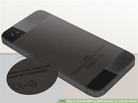 iphone imei 7 ways to find the imei or meid number on a mobile phone wikihow