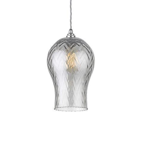 tech lighting lustra pendant zoffany tulipe lustre pendant light grey smoke