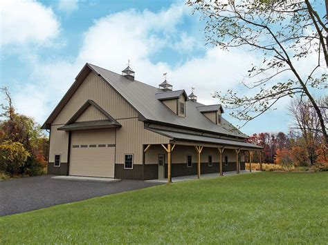 Garages With Lofts Floor Plans by Residential Pole Building Tri State Buildings Pa Amp Nj
