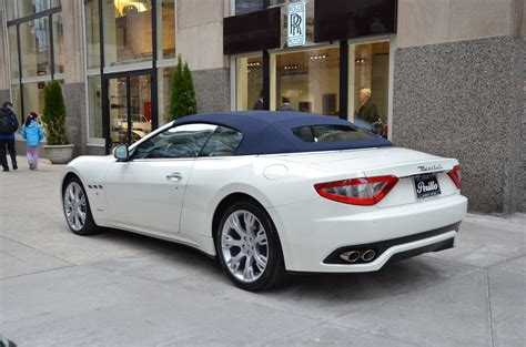 convertible maserati for sale 2015 maserati granturismo convertible stock gc1614bb for