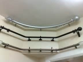 Curved Curtain Rod For Bow Window Curtain Rods For Bay Windows Curved Windows Home Design