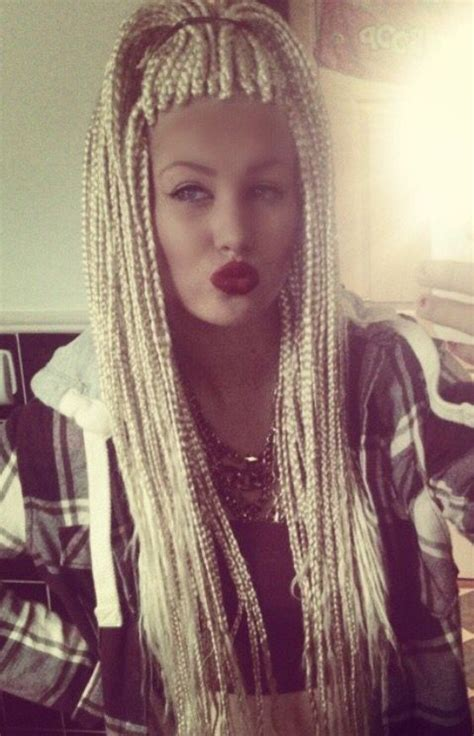 white people with twists white person with box braids pictures to pin on pinterest