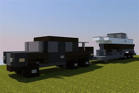 minecraft boat track mercedes benz and cer trailer html autos post