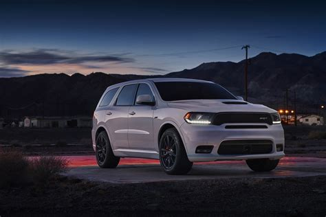 2018 Dodge Durango SRT Becomes Most Powerful Three Row SUV