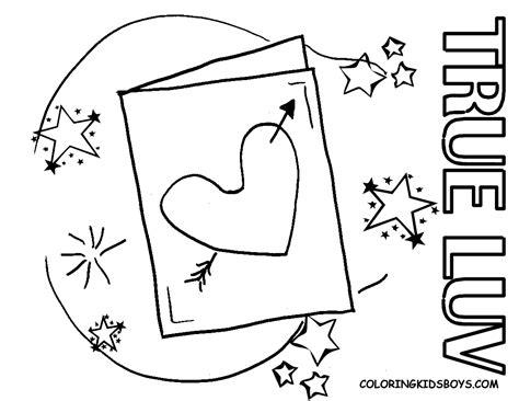 true love coloring pages transmissionpress letter quot true love quot foe valentine