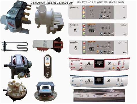 whirlpool air conditioner spare parts whirlpool spare parts in chennai jehovah refrigeration