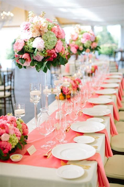 Newport Wedding with Stellar Coral Details   MODwedding