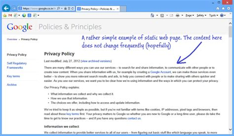static page template static vs dynamic web page the code post
