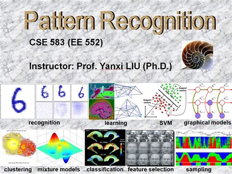 pattern recognition classification cse 583 pattern recognition and artificial intelligence