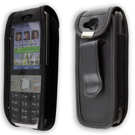 Cesing Kesing Nokia 2680s nokia c5 00 c 5 leather with belt clip black ebay