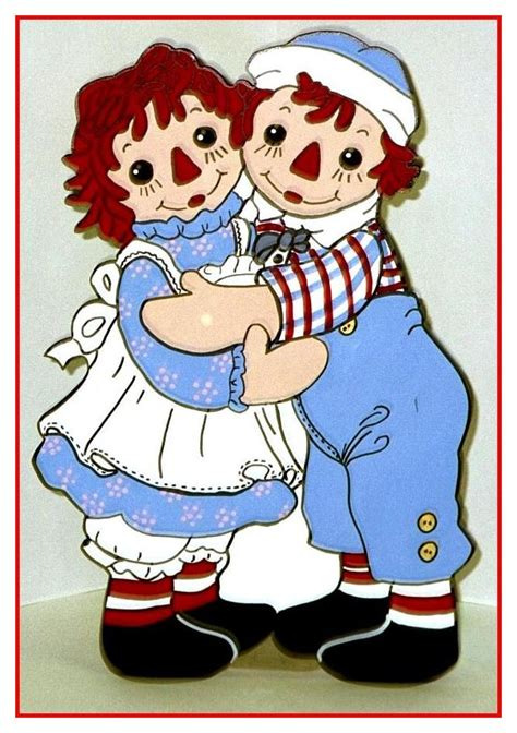 doll yard art 130 best raggedy and andy images on
