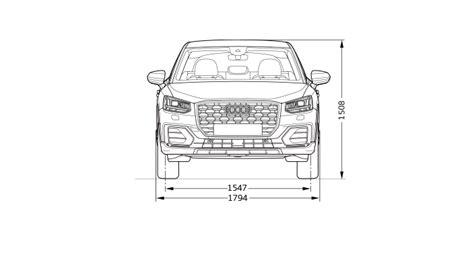 Audi Q2 Dimensions Dimensions Gt Audi Suisse