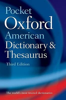 the pocket oxford classical pocket oxford american dictionary and thesaurus book by oxford university press creator 1