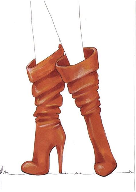Sepatu Boots Conguer 188 best images about shoes boots illustrations on