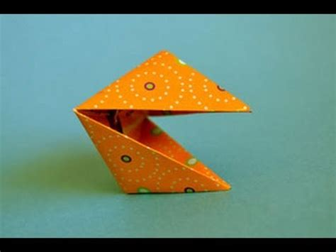 How To Make Paper Snapper - origami snapper www origami
