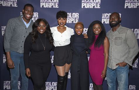 the color purple broadway cast isaiah johnson in the color purple broadway cast photo