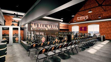 cavs legion gaming club  construct  esports facility  clevelands battery park neighborhood