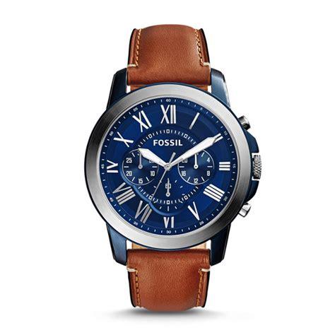 Jam Fossil Grant Beige Brown Leather Fs5152 fossil jual jam tangan original fossil guess daniel wellington victorinox tag heuer oris