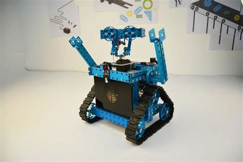 robotic wall diy wall e robot with makeblock parts robotic gizmos