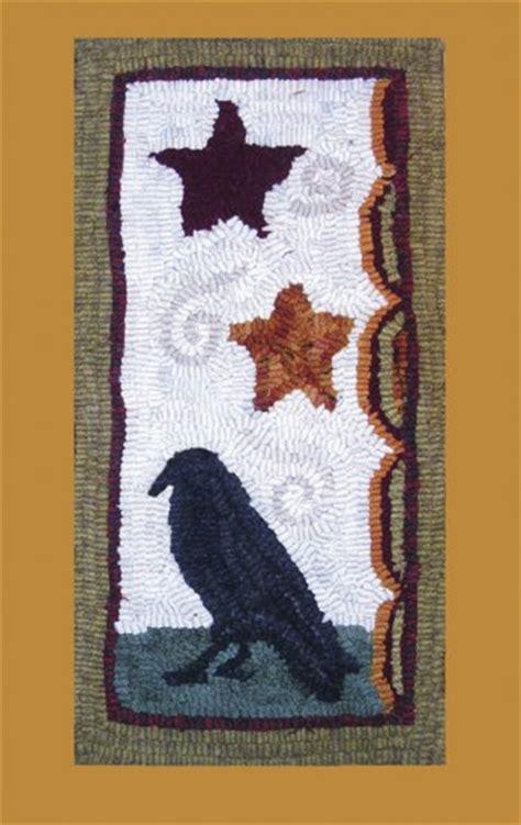 primitive rug hooking patterns free primitive rug hooking pattern on linen