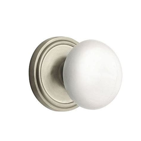 Porcelain Interior Door Knobs by Nostalgic Warehouse Classic Passage Interior Door Set With White Porcelain Knob Dyke S