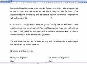 loan modification hardship letter youtube