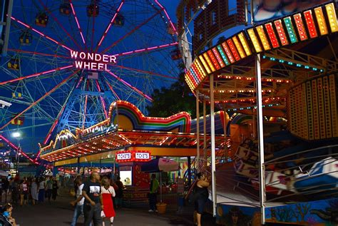 coney island nights of lights nyc nyc coney island at
