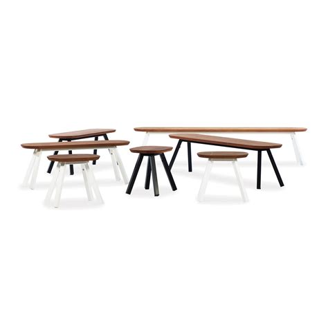 bench games black outdoor game table bench 20 in iroko wood