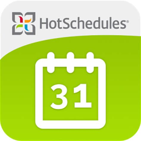 hot schedule hotschedules 4 36 0 download the easy simple employee
