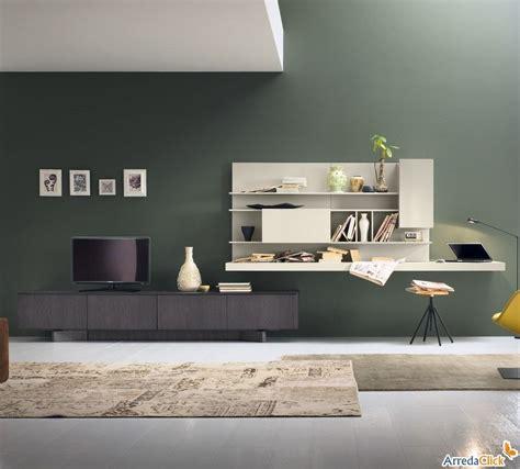 schreibtische im wohnzimmer plan fs56 wohnwand mit beitem regal als schreibtisch
