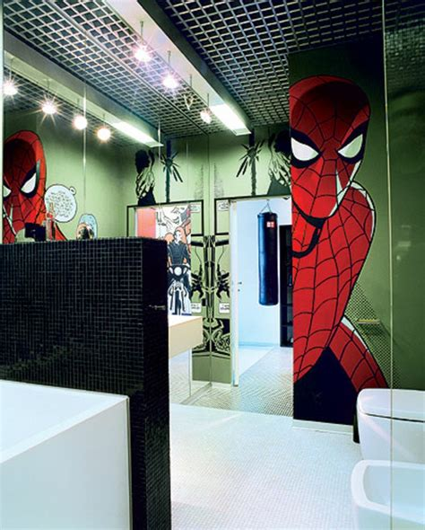superman bathroom decor boys bathroom designs super hero bathroom design ideas