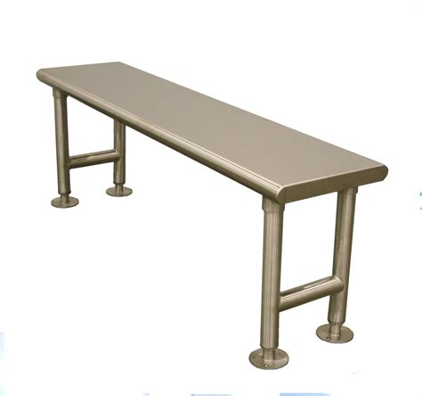 gowning bench stainless steel gowning bench tbj inc