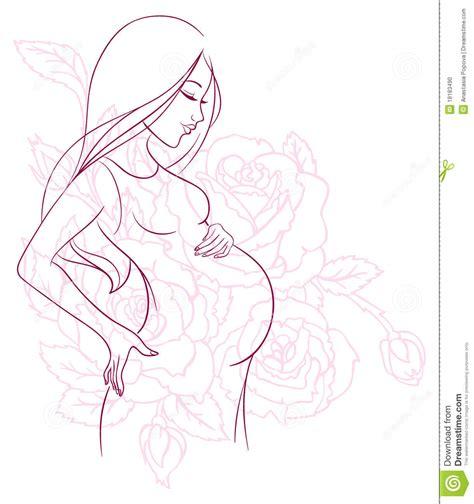imagenes para pintar embarazadas pin colorear mujer embarazada dibujos para pintar on pinterest