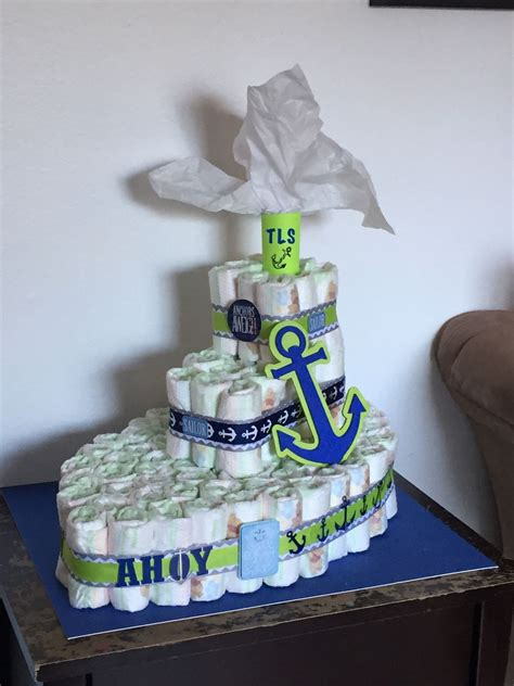 Baby Shower Boat by Cake Boat Ahoy It S A Boy Baby Shower Crawfish