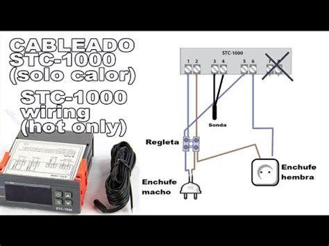 cableado termostato stc 1000 stc 1000 wiring