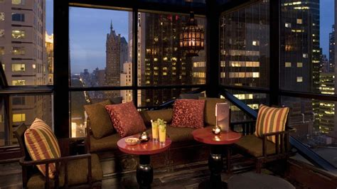 Best Private Dining Rooms Nyc Nyc Rooftop Bar Salon De Ning The Peninsula New York