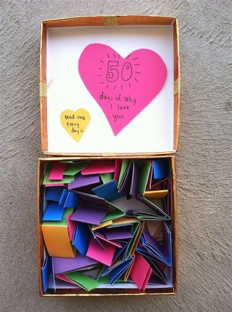 Make And Take Ideas From Cha 365 Days Of Crafts - a box of different reasons you your so