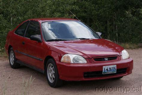 honda civic hx 1997 honda civic hx coupe 1997 with charcoal interior