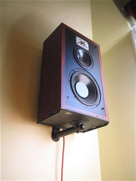 ideas  mounting large surround speakers  wall avs