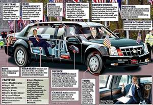 Car Used By Usa President Images Of New Presidential Limo Leaked As It