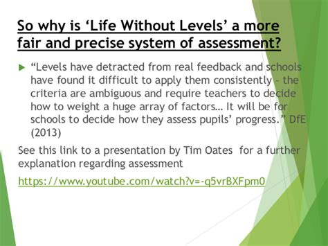 assessment without levels presentation blackboys c of e