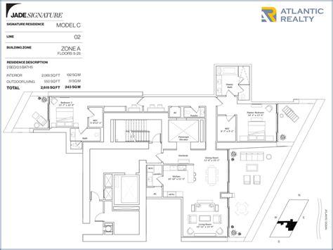jade garden layout plan jade signature new miami florida beach homes