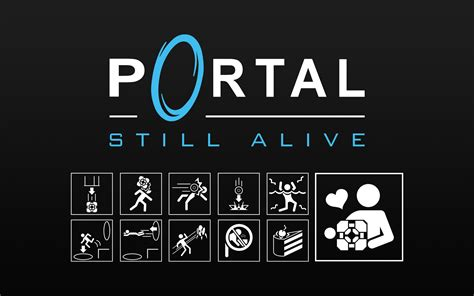 portal images image 71506 still alive portal end theme