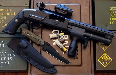 shorty shotgun guns knife weapons self defense