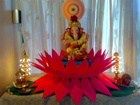 ganesh chaturthi  ganpati decoration ideas