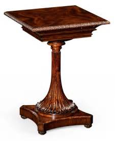 living room mahogany side table