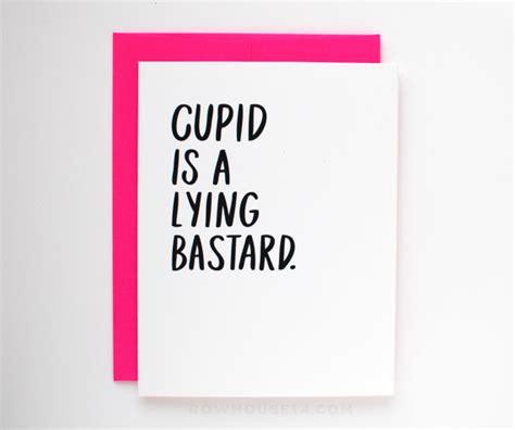 funny valentine card anti valentine card singles awareness