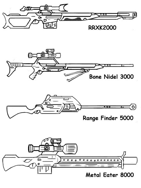 sniper gun coloring page best of military gun coloring pages womanmate com